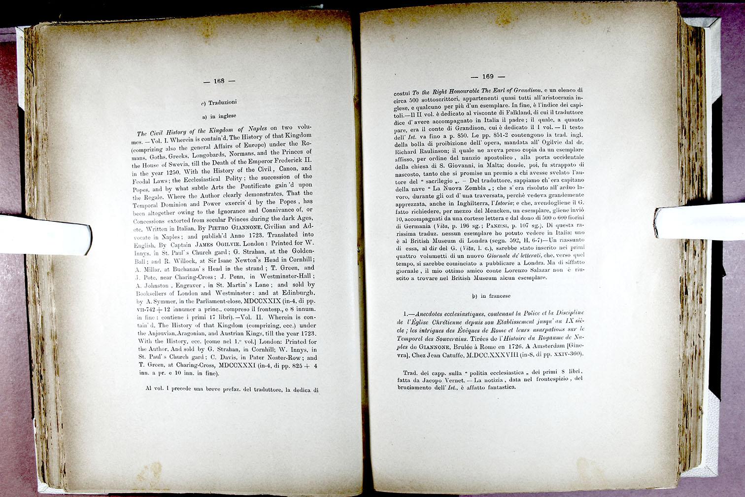 La Credenza Traduzione In Francese : Archivio storico per le province napoletane società napoletana